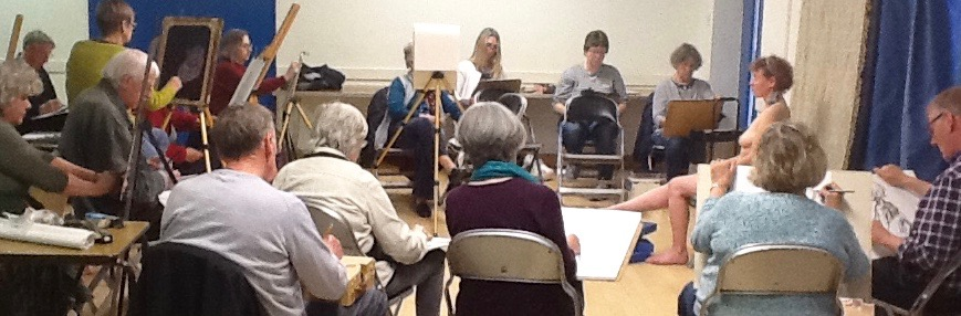 Life drawing Seaford art club